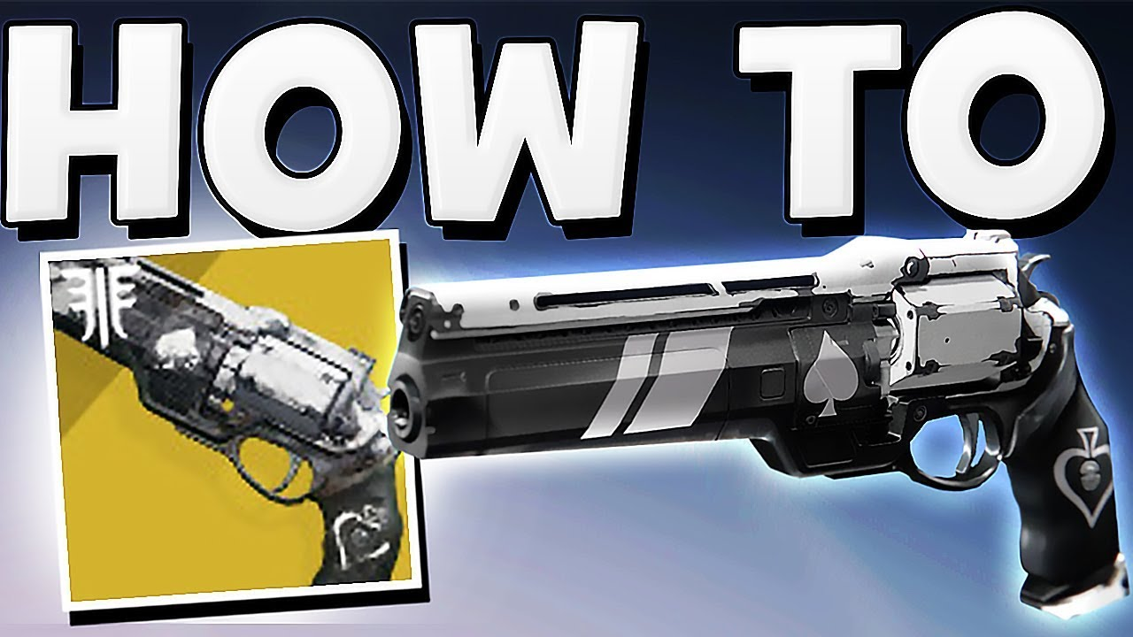 a75d965ae8b Destiny 2 - How to Get Ace of Spades Exotic Hand Cannon (Full Quick Guide) !