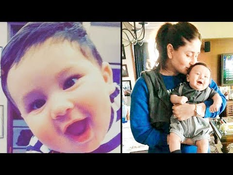 Thumbnail: Taimur pushes mommy Kareena Kapoor Khan | Watch Video