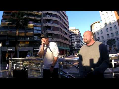 CHARLES CARLO & MC JMO - Great rap and beatbox show in Valencia