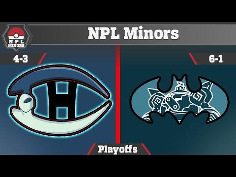 NPL Minors | Montreal Habsols S3 Quarter-Finals Battle vs Gotham City Golurks