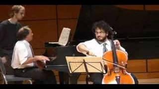 Rachmaninoff Sonata for Piano and Cello, mvt. 3