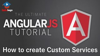 AngularJS Video Tutorials- Create custom Service