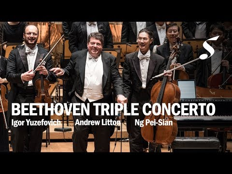 BEETHOVEN Triple Concerto - Igor Yuzefovich/Ng Pei-Sian/Andrew Litton | Singapore Symphony Orchestra