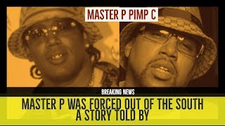 MASTER P WAS FORCED OUT OF THE SOUTH over Pimp C Issues | Story Time (allegedly)