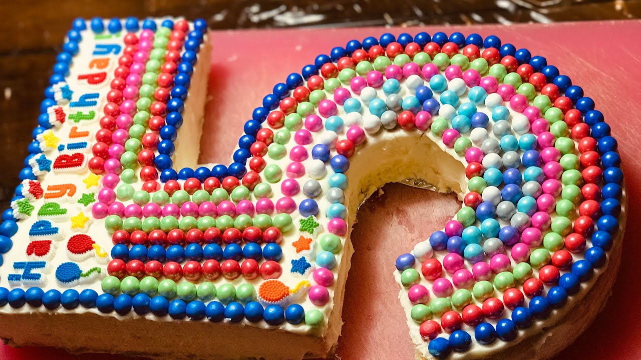 How To Make The Ultimate Birthday Cake Youtube