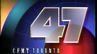 CFMT Channel 47 Cable 4 IDs 1990s