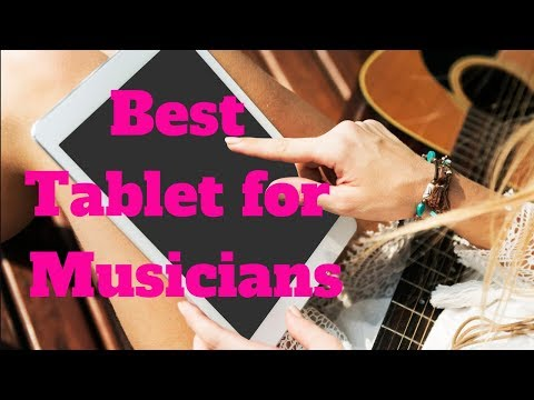 🎼🎹🎵Best Tablet For Musicians-Samsung Galaxy Tab S4🎼🎹🎵