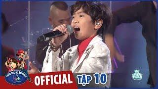 VIETNAM IDOL KIDS 2017 - TẬP 10 - QUỐC ĐẠT - LẠC TRÔI