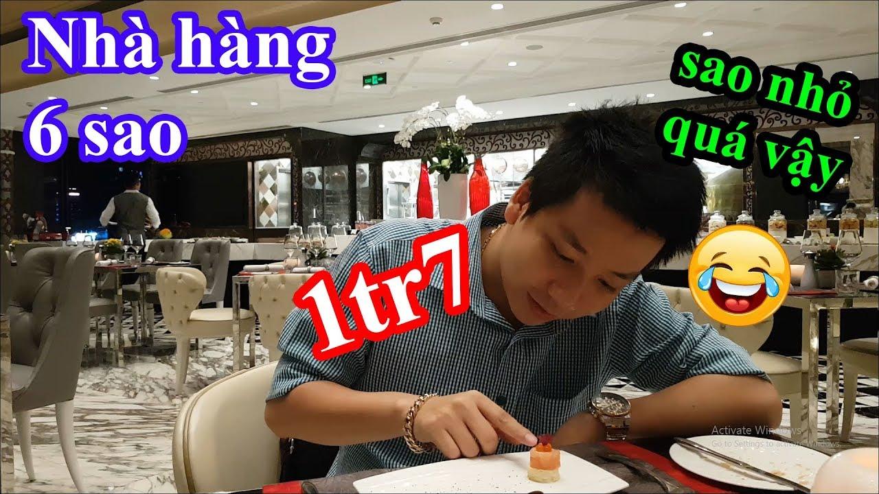 Lần đầu đi ăn nhà hàng 6 sao trong khách sạn 6 sao bí hiểm có vị trí đắc địa nhất Sài Gòn