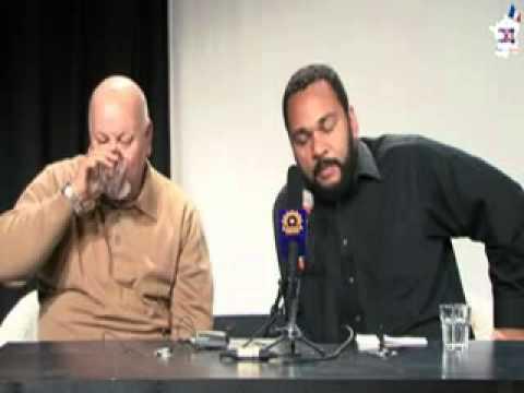 Dieudonnée, retour d'Iran conférence de presse