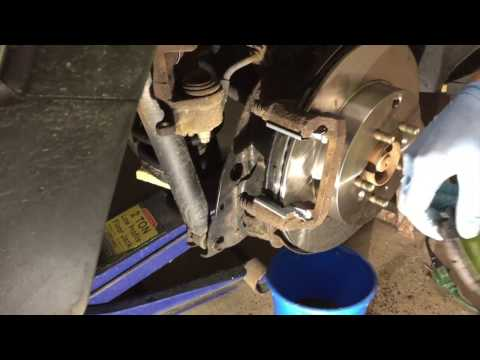 Complete guide to replacing brake pads and rotors (2012 Mazda)