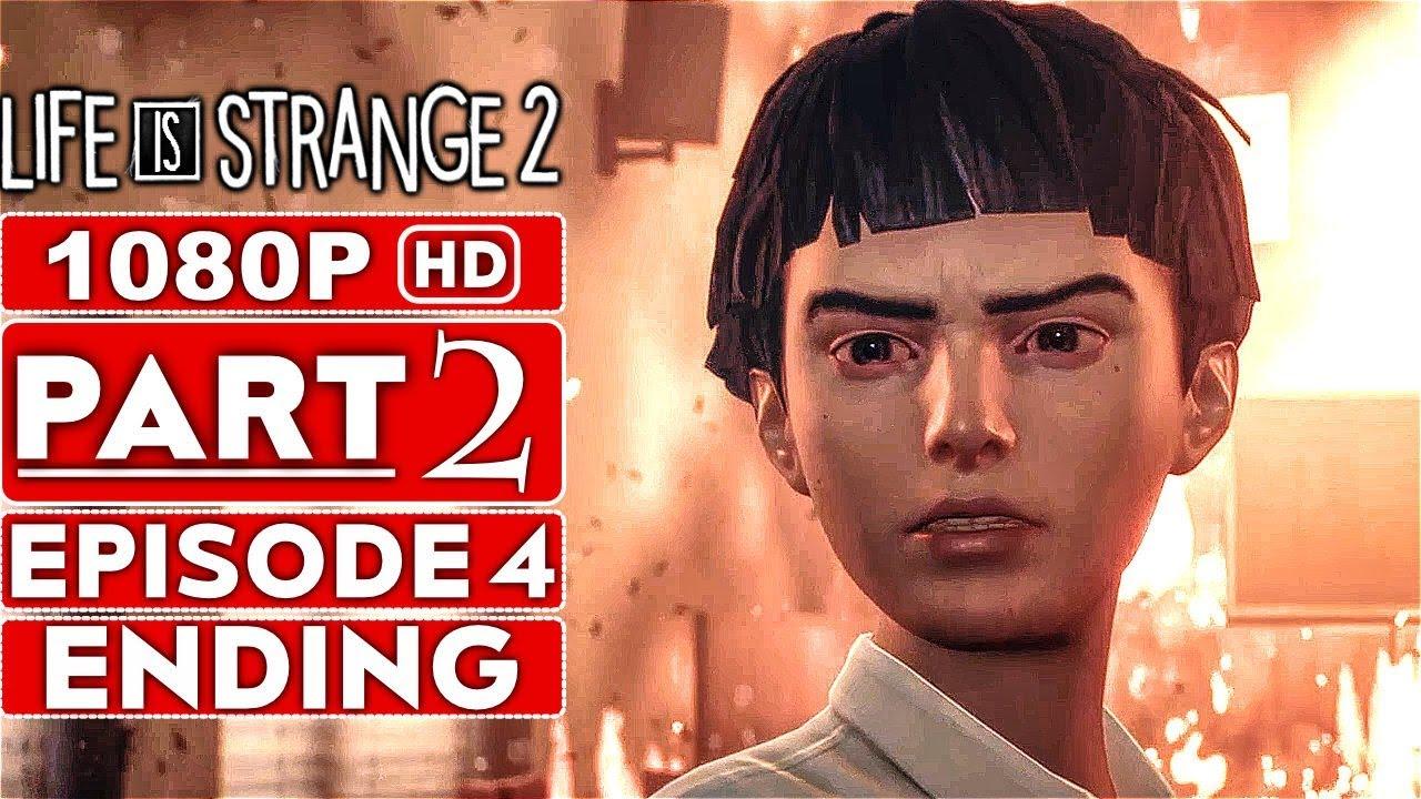 DAS LEBEN IST SELTSAM 2 EPISODE 4 ENDING Lösungsweg für das Gameplay Teil 2 [1080p HD PC] - Kein Kommentar + video