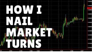 Forex Trading: How I Nail Market Turns