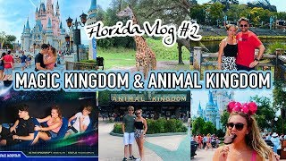 OUR FIRST FULL DAYS IN THE PARKS! Magic Kingdom & Animal Kingdom - WDW #1
