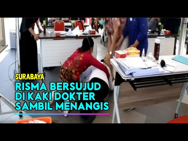 Walikota Surabaya, Tri Risma Harini Sujud di Kaki Dokter Saat Pertemuan IDI Surabaya