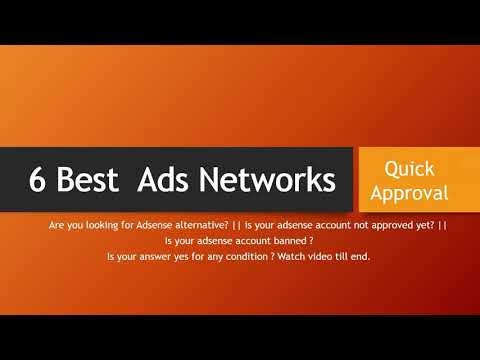 6 Best Ads Networks that Instantly Approved New Blogs and Websites
