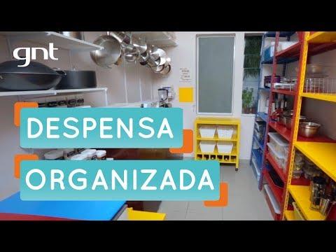 Como organizar a despensa | Organização | Santa Ajuda | Micaela Góes