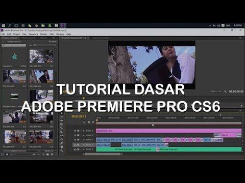 Tutorial Dasar Adobe Premiere Pro cs6 - YouTube