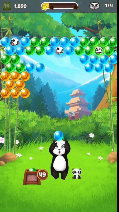 game panda pop level 1 youtube. Black Bedroom Furniture Sets. Home Design Ideas