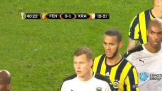 Fenerbahçe 1 : 1 Krasnodar   Avrupa Ligi 2017