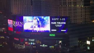 "Brian May ""Las Vegas never sleeps."" 2am 04/09/2018"