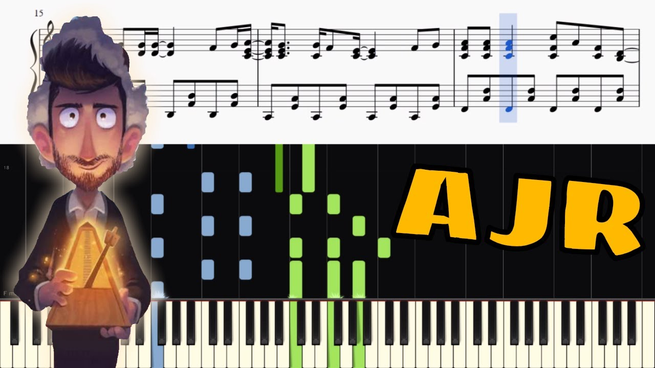Ajr Sober Up Piano Tutorial Sheets Youtube 3 мин и 24 сек. ajr sober up piano tutorial sheets