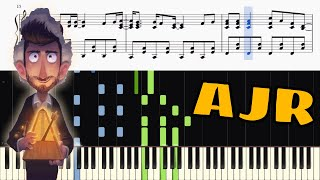 Ajr Sober Up Piano Tutorial Sheets Youtube Welcome to /r/ajr, where you can talk about the band ajr all you want. ajr sober up piano tutorial sheets