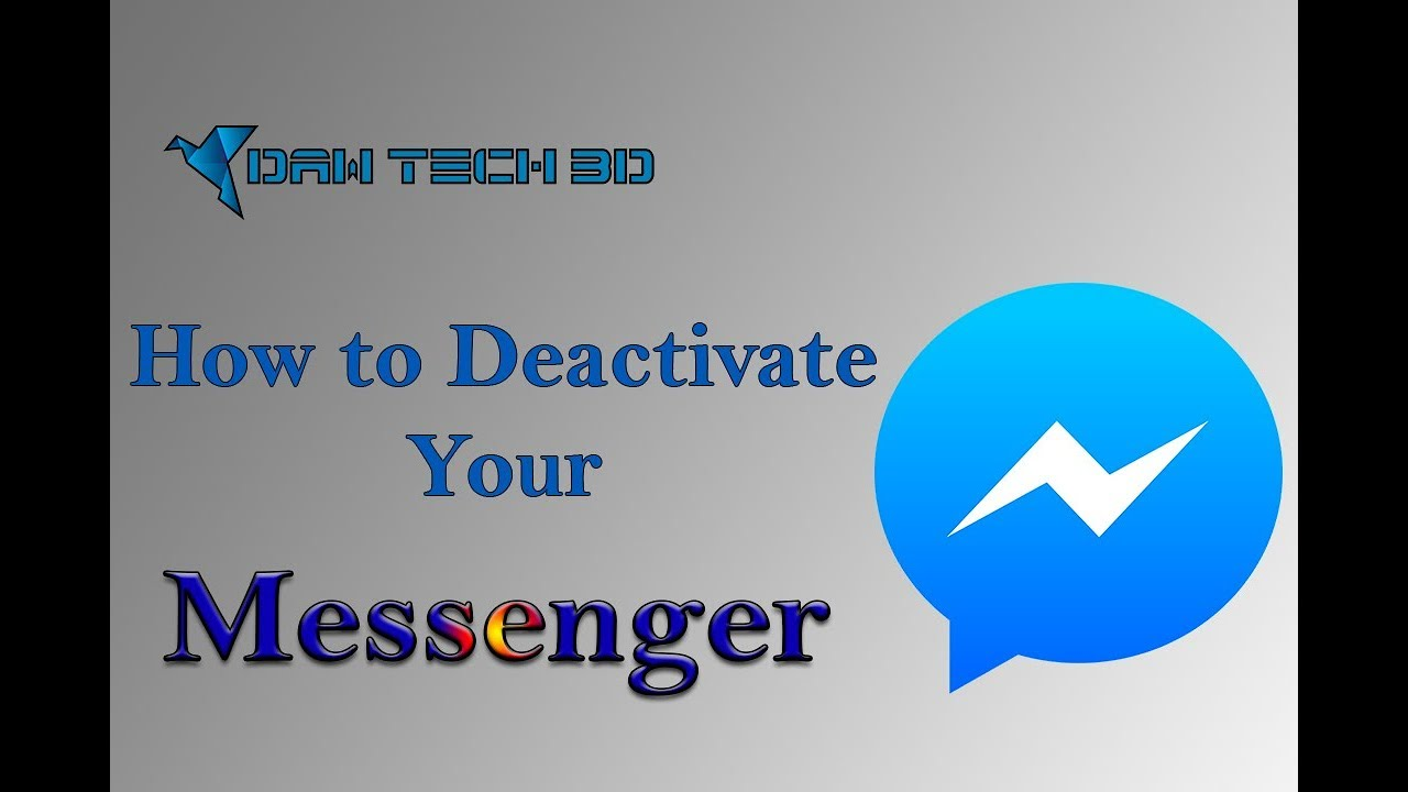 How to Deactivate Your Messenger using Phone | Facebook Trick | New Trick | Daw Tech BD
