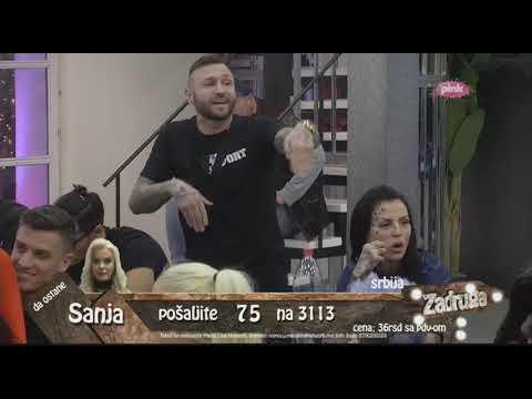 Zadruga 2 - Marko saznao kome je Ša nabacivao Lunu - 08.02.2019.