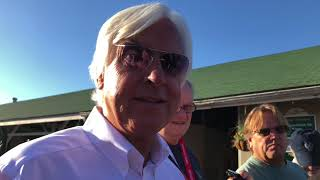 Belmont Stakes: Bob Baffert on Justify - June 4, 2018
