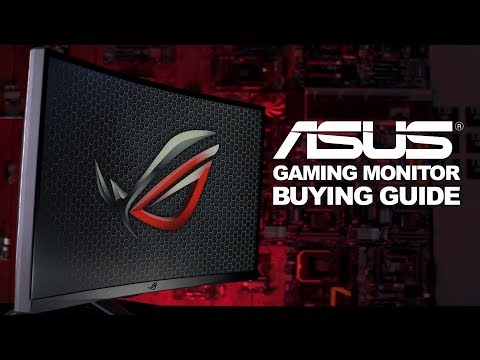 ASUS Gaming Monitors - VP, XG, PG series a monitor for every gamer