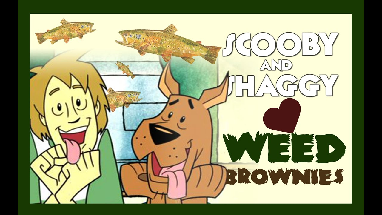 Scooby Doo And Shaggy Weed