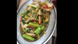 Cooking  &#39perut babi&#39. Delicious yummy yummy  Masakan Bidayuh  Part 1 S1