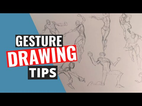 Gesture Drawing Tips