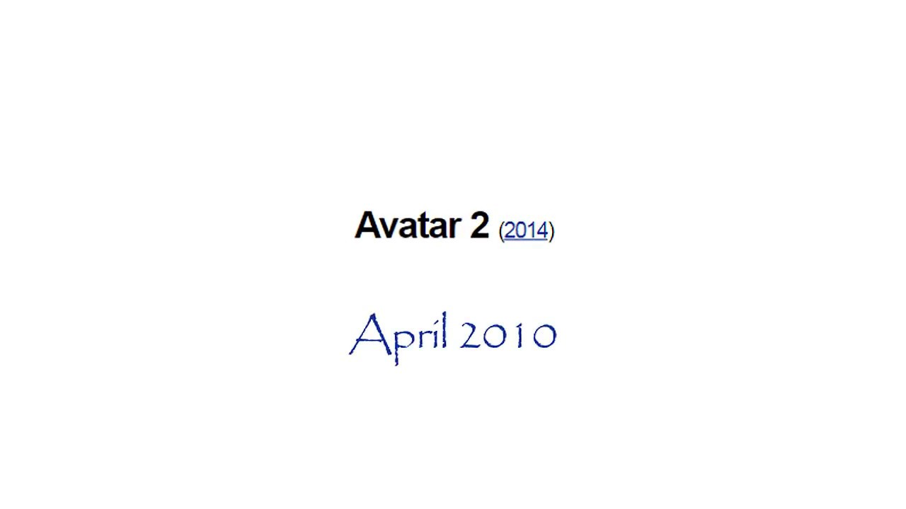 The Evolution of AVATAR 2's Release Date