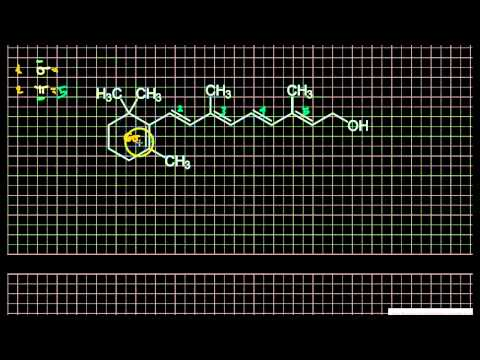Counting Sigma and Pi Bonds in Vitamin A