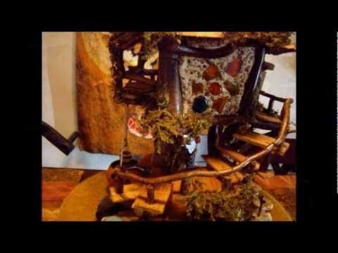 how to build a fairy house youtube. Black Bedroom Furniture Sets. Home Design Ideas