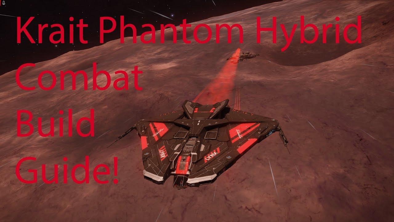 ED Krait Phantom Hybrid Combat Build Guide