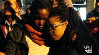 Thousands Protest Ferguson Decision in New York