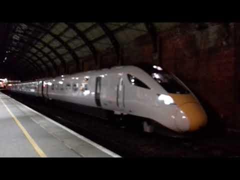 """""""NEW"""" GWR IEP - 800 031 5X80 Merchant Park - Doncaster IRP 01/12/17"""