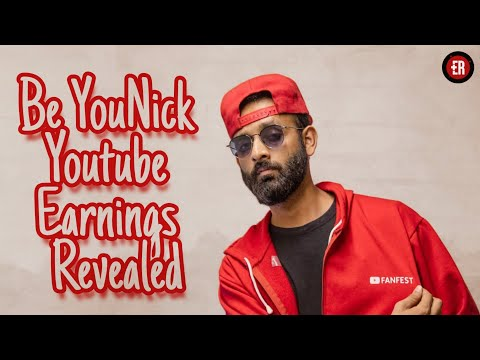 BE YOUNICK EARNINGS REVEALED | How Much Nikunj Lotia Earns From His Youtube Channel - Be YOUNICK