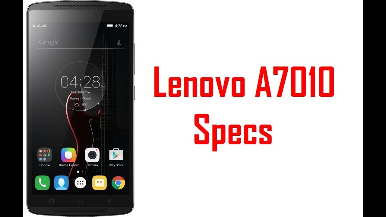 Lenovo A7010 Specs, Features & Price