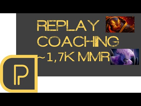 Replay Coaching ~1.7k MMR - Ember mid + Void Carry