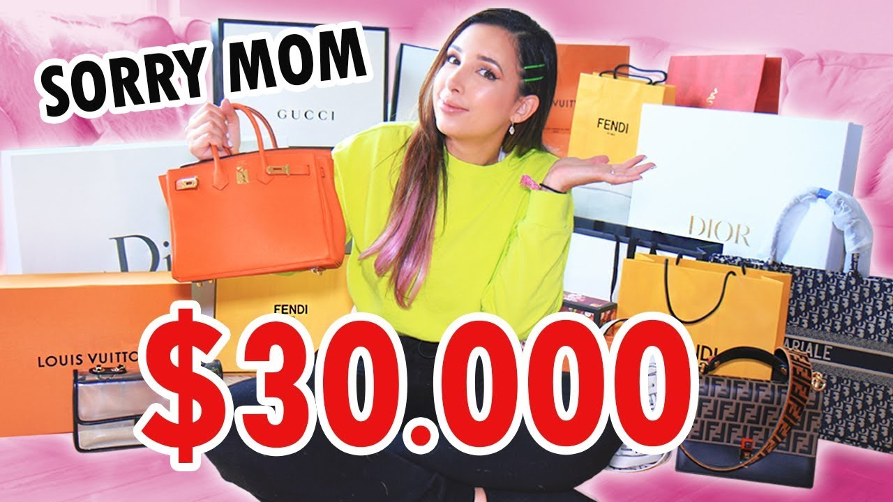 c64c938d194 $30,000 LUXURY HAUL DESIGNER SHOPPING (GUCCI, DIOR, FENDI AND MORE!) | Mar  – Shopping time