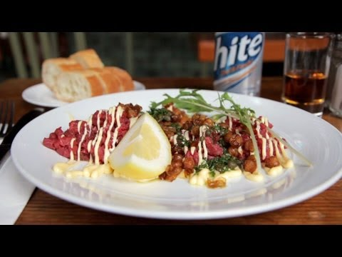 Generate NY CHOW Report - Steak Tartare at the Roebling Tea Room - NY CHOW Report Screenshots