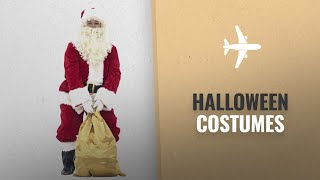 Costume Supercenter Men Halloween Costumes [2018]: PAMPAS Crimson Regency Plush Santa Suit 10pc. Red