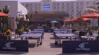 Video Pongstarz Pacific City Beach Ping Pong 2017 download MP3, 3GP, MP4, WEBM, AVI, FLV November 2018
