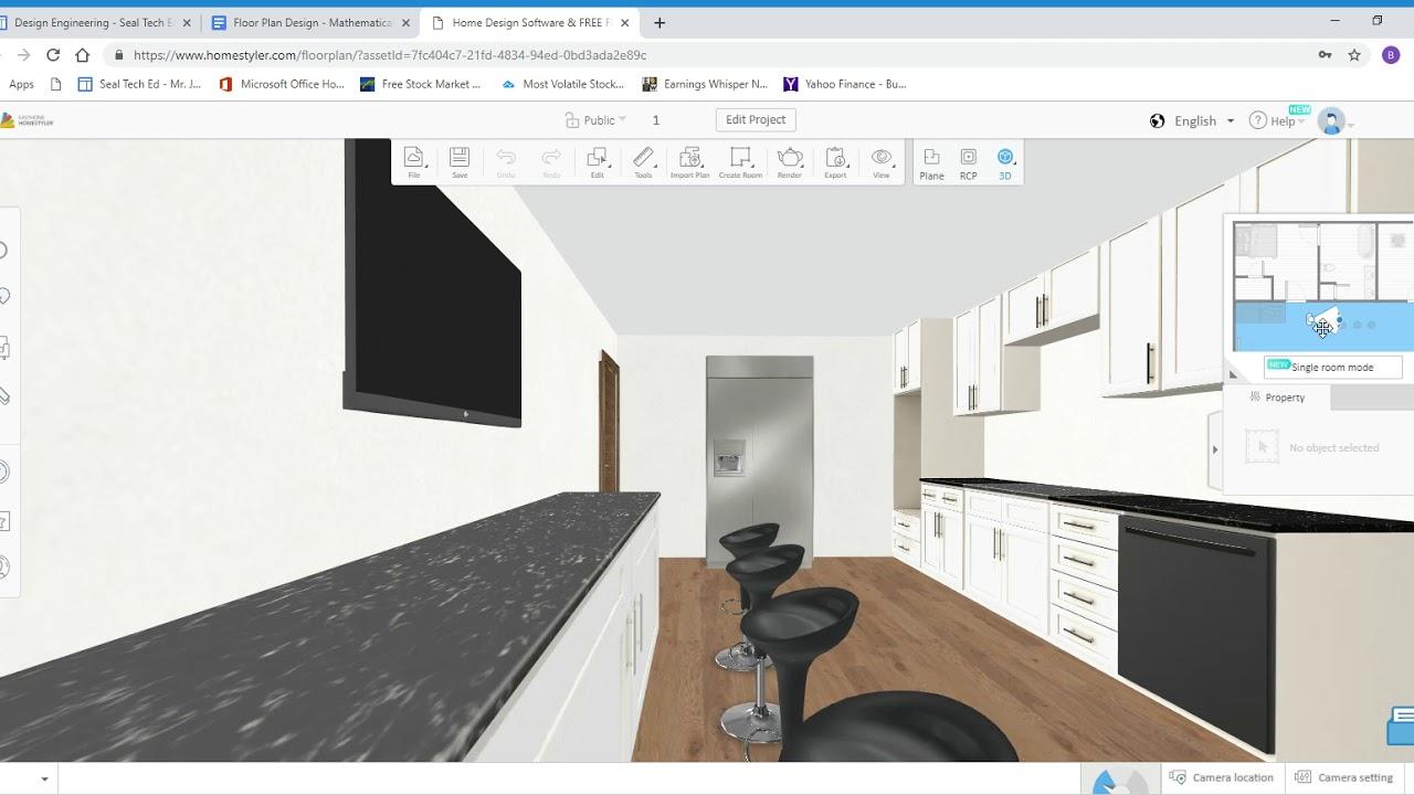Home Design Software Free Floor Plan Online Homestyler