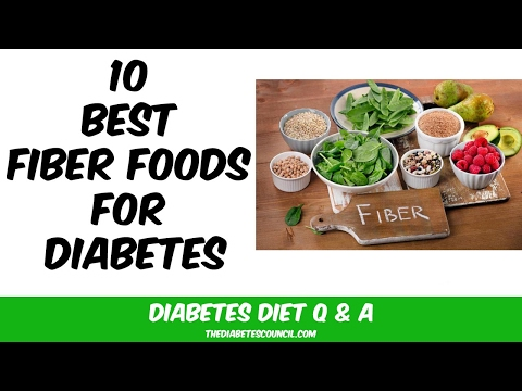10 Best Fiber Foods for Diabetes