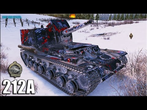 ЗАТАЩИЛ бой на АРТЕ ✅ Объект 212А лучший бой World of Tanks